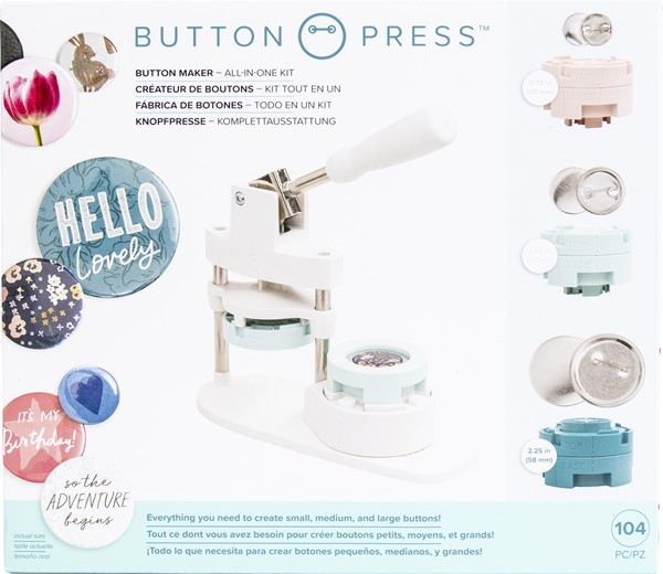 Bild von We R Memory Keepers Button Press Bundle-