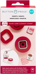 Bild von We R Memory Keepers Button Press Insert-Square (31mm)