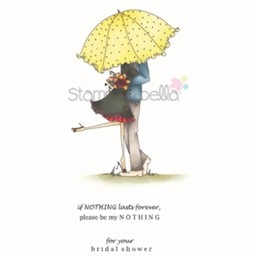 Bild von Stamping Bella Emily and Ryan Under The Umbrella Stempel