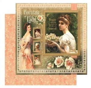 Bild von Graphic 45 Designpapier Portrait Of A Lady Collection - Portrait Of A Lady