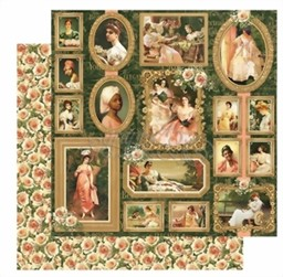 Bild von Graphic 45 Designpapier Portrait Of A Lady Collection -  Elizabeth